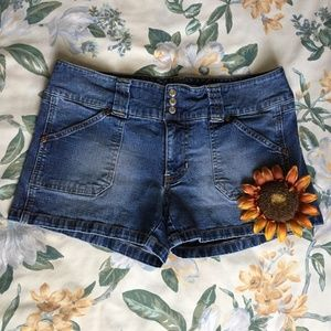 Old Navy Denim Jean Short with Button & Zipper Fly
